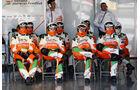 Force India F1 Test Barcelona 2013