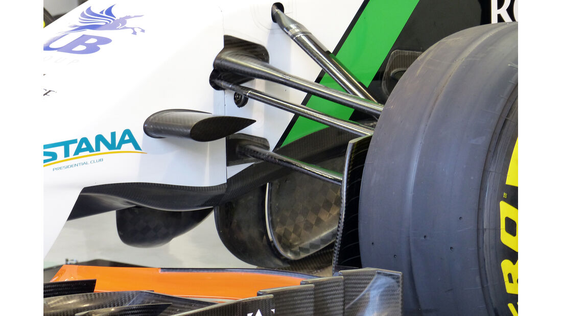 Force India - F1-Tests - 2014