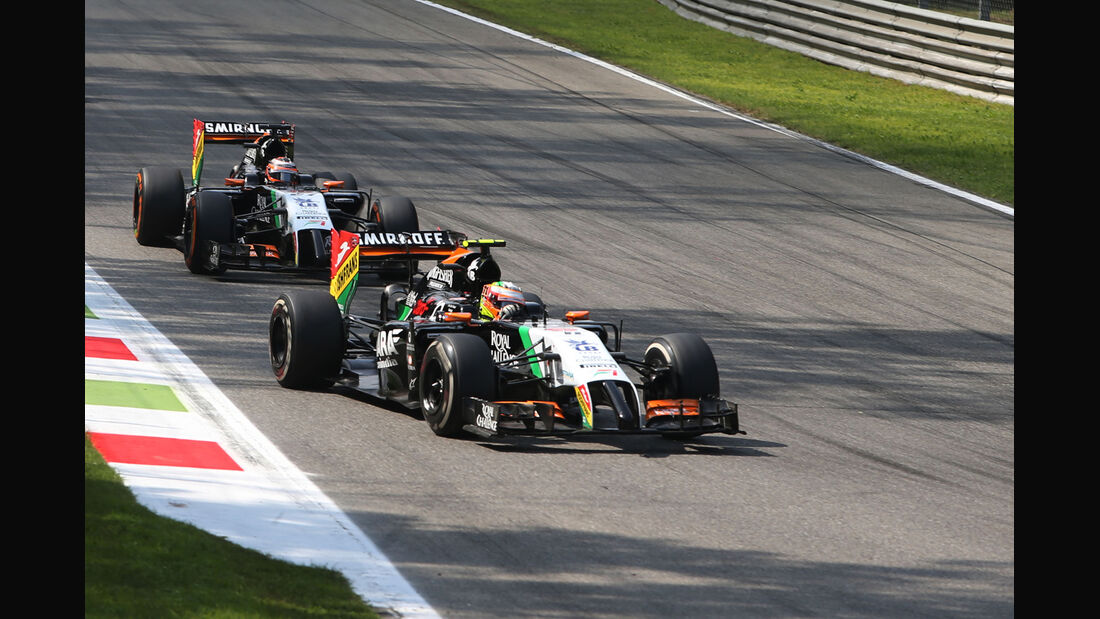 Force India - Formcheck - GP Italien 2014