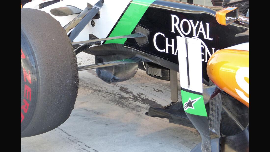 Force India - Formel 1 - Bahrain - Test - 2. März 2014