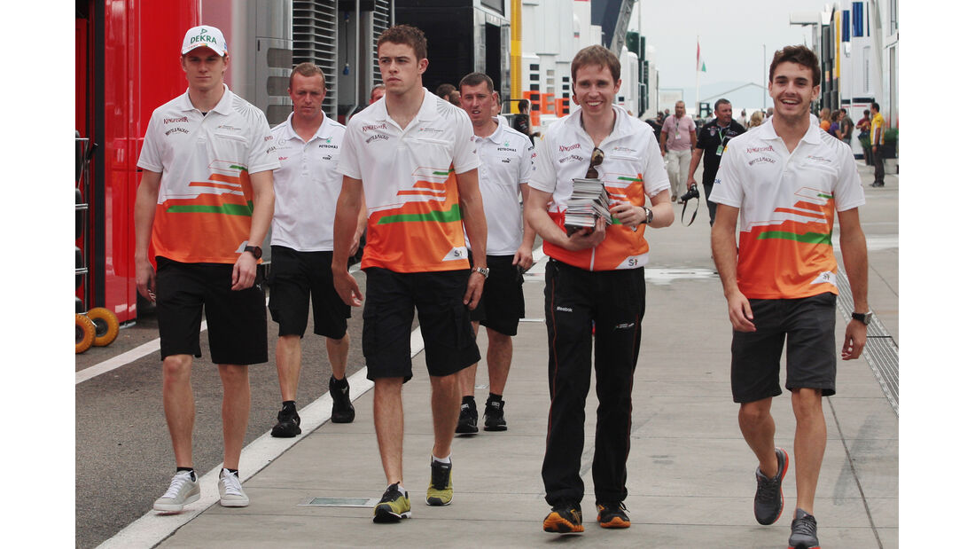 Force India - Formel 1 - Budapest - GP Ungarn - 26. Juli 2012