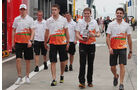 Force India - Formel 1 - Budapest - GP Ungarn - 26. Juli 2012