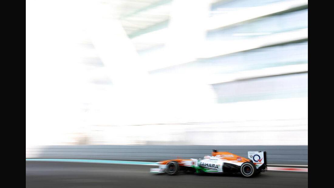 Force India - Formel 1 - GP Abu Dhabi - 02. November 2013