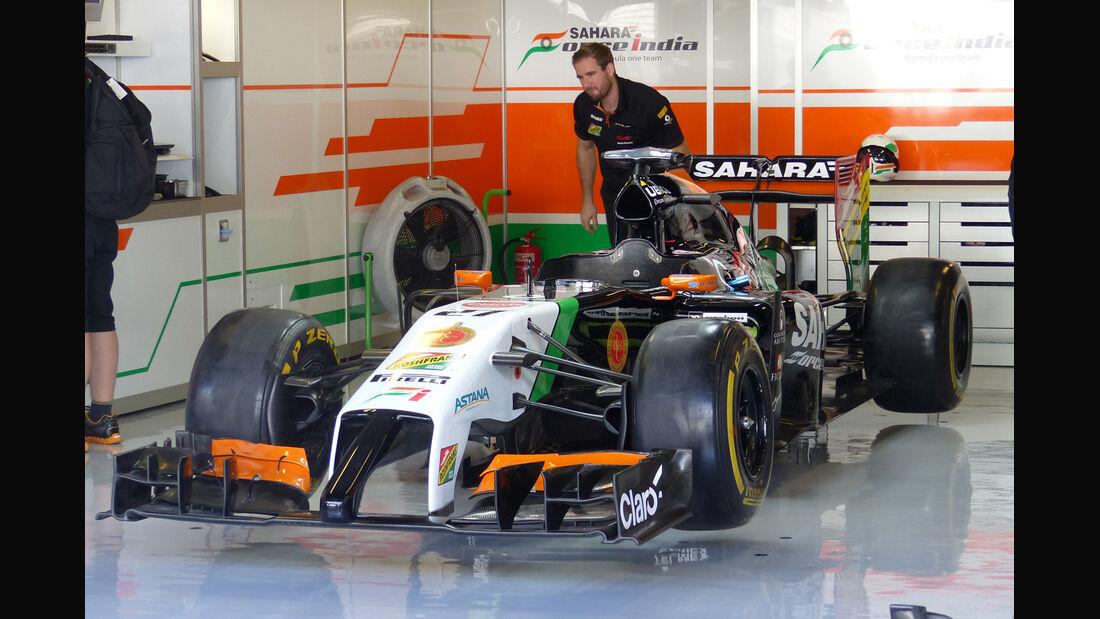 Force India - Formel 1 - GP Abu Dhabi - 22. November 2014