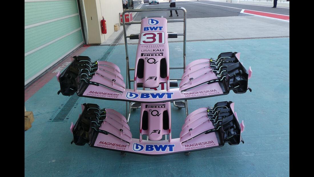 Force India - Formel 1 - GP Abu Dhabi - 23. November 2017