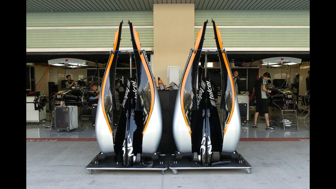 Force India - Formel 1 - GP Abu Dhabi - 24. November 2016