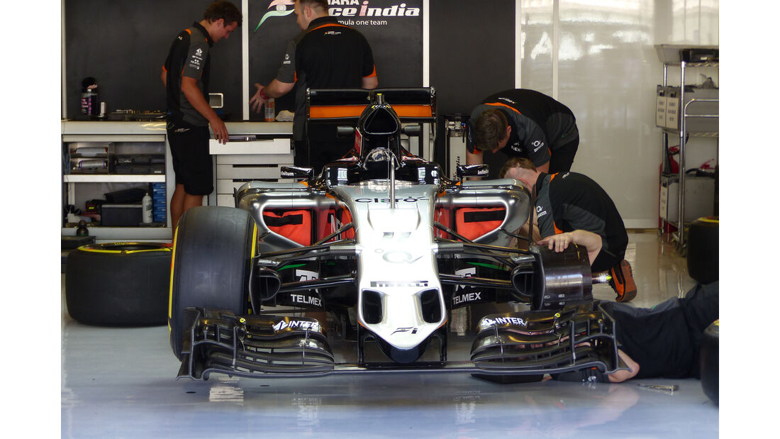 Force India - Formel 1 - GP Abu Dhabi - 26. November 2015