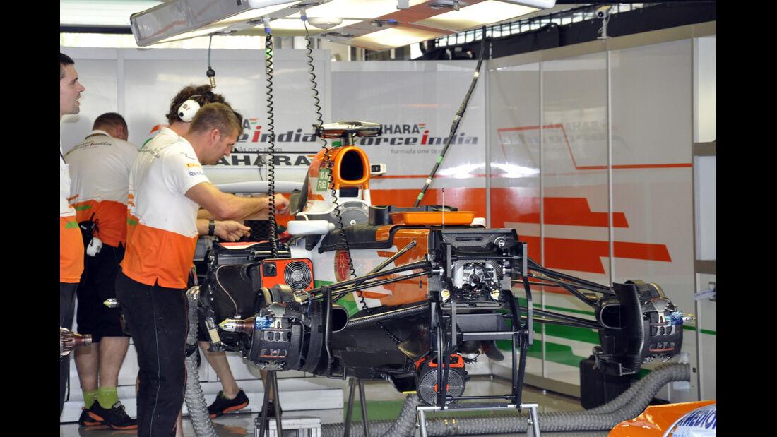 Force India - Formel 1 - GP Abu Dhabi - 31. Oktober 2013