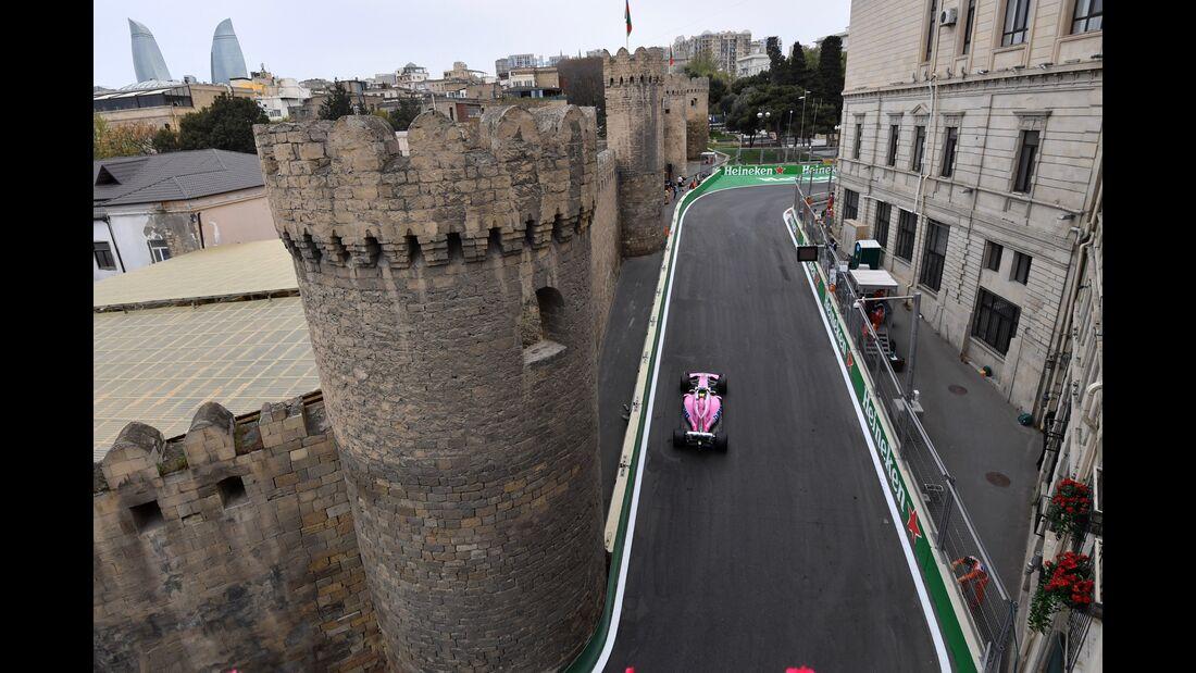 Force India - Formel 1 - GP Aserbaidschan - 27. April 2018