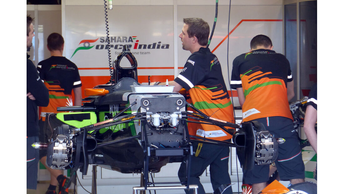 Force India - Formel 1 - GP Australien - 12. März 2014