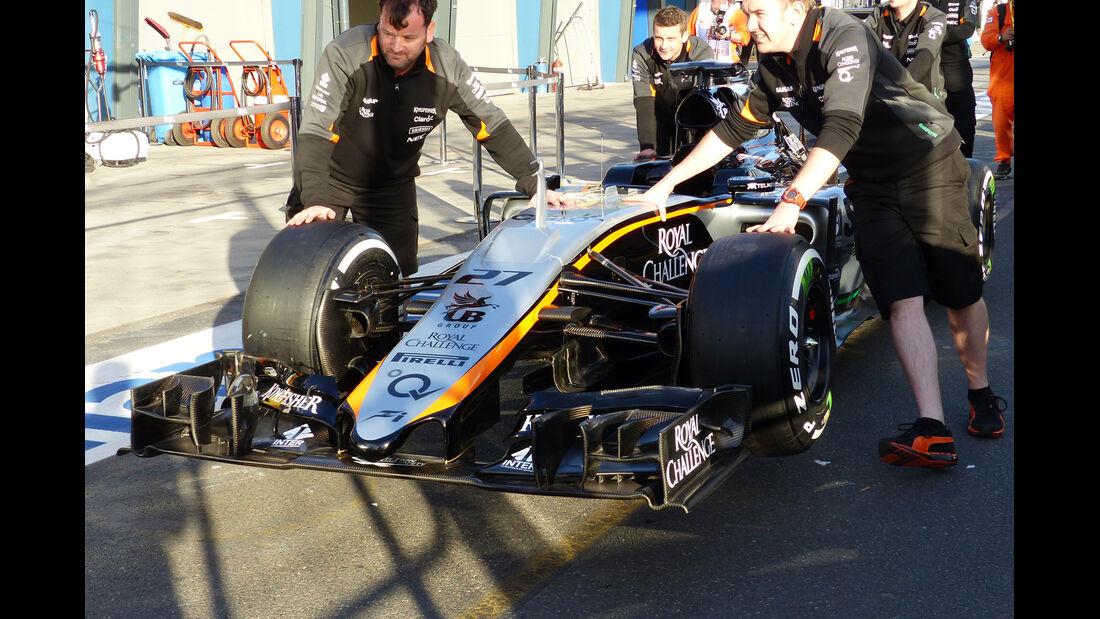 Force India - Formel 1 - GP Australien - 12. März 2015