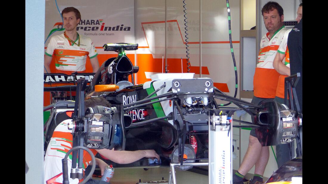 Force India - Formel 1 - GP Australien - 13. März 2014