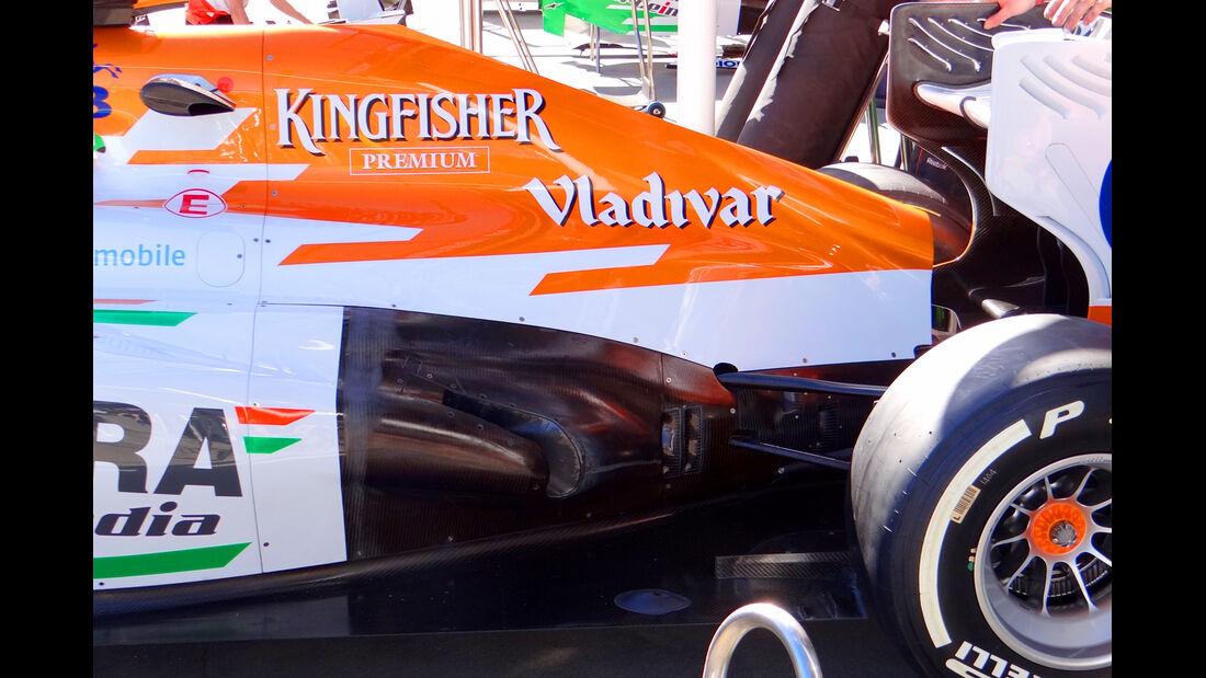 Force India - Formel 1 - GP Australien - 14. März 2013