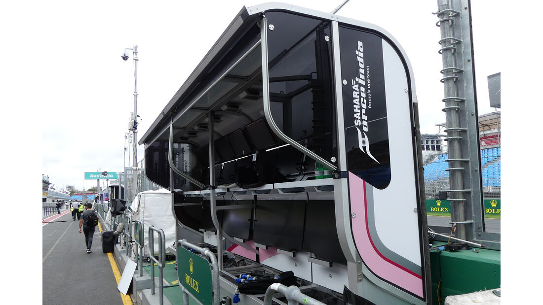 Force India - Formel 1 - GP Australien - Melbourne - 22. März 2017