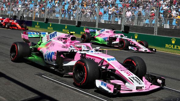 Force India - Formel 1 - GP Australien - Melbourne - 23. März 2018