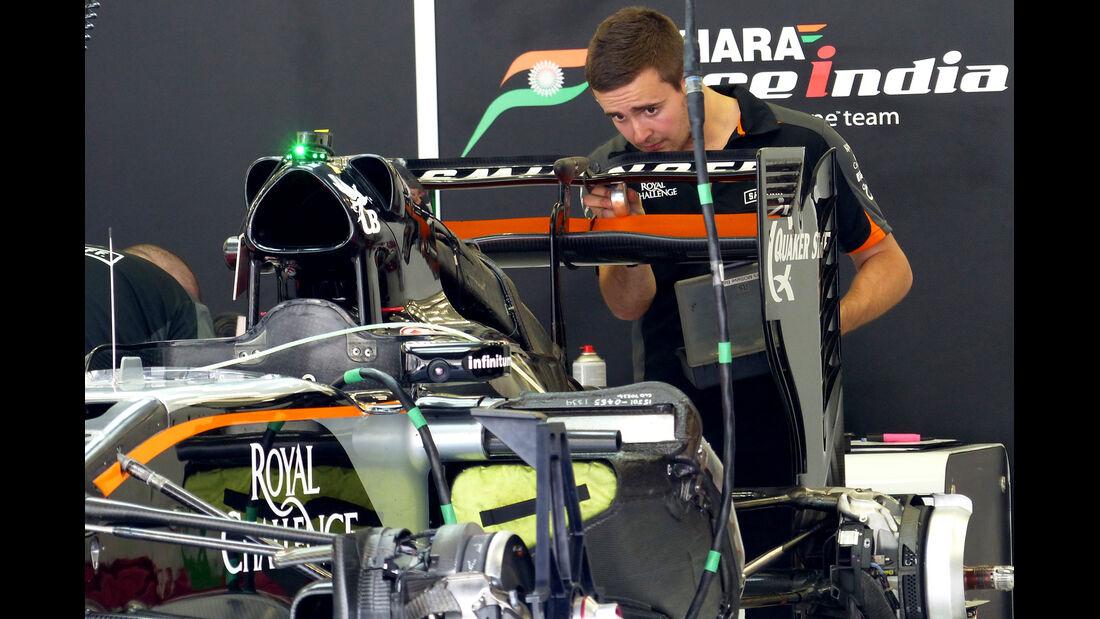 Force India - Formel 1 - GP Bahrain - 16. April 2015