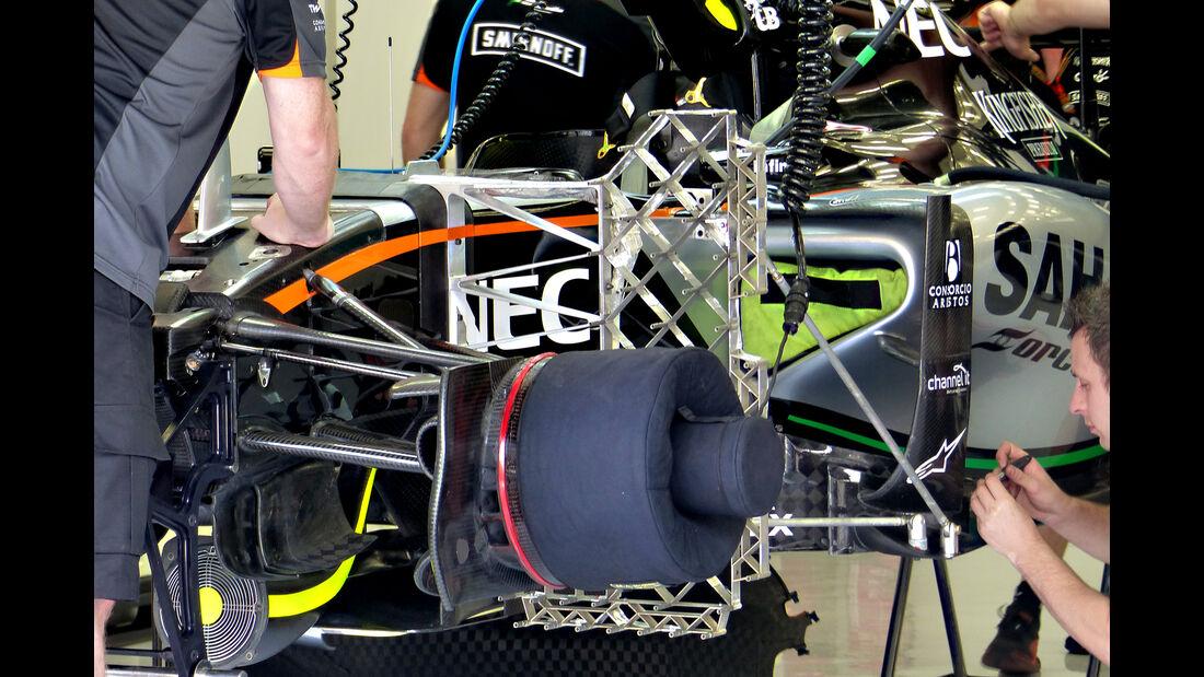Force India - Formel 1 - GP Bahrain - 17. April 2015