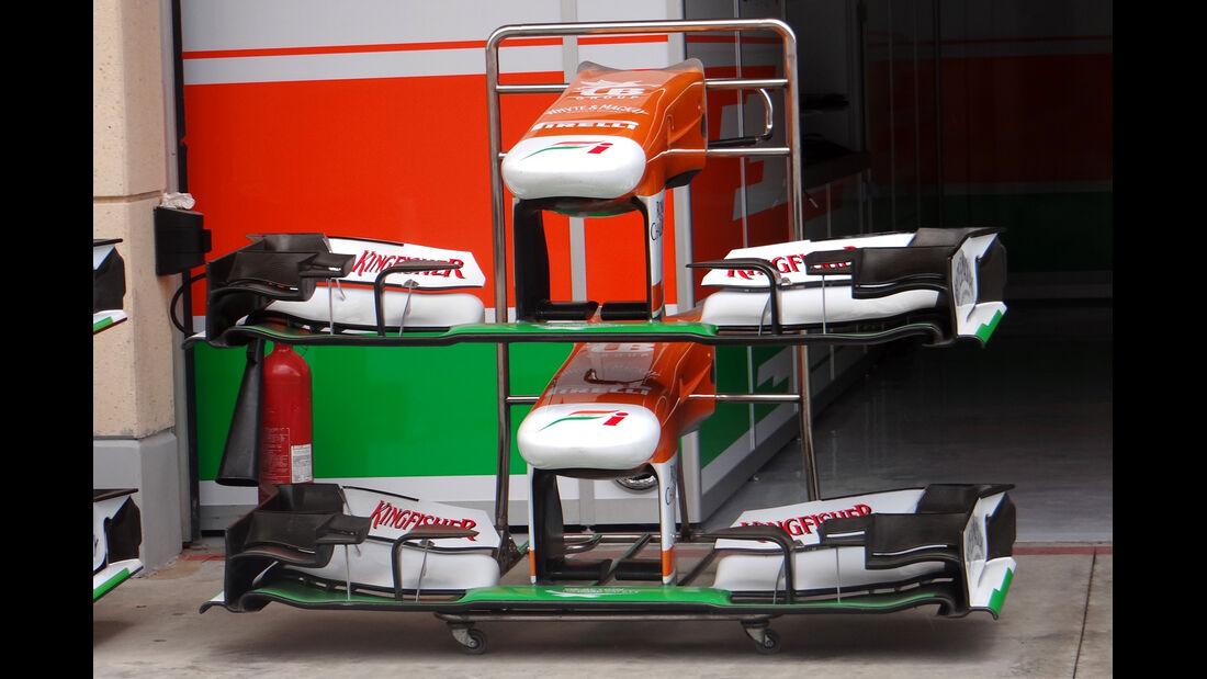 Force India - Formel 1 - GP Bahrain - 19. April 2013