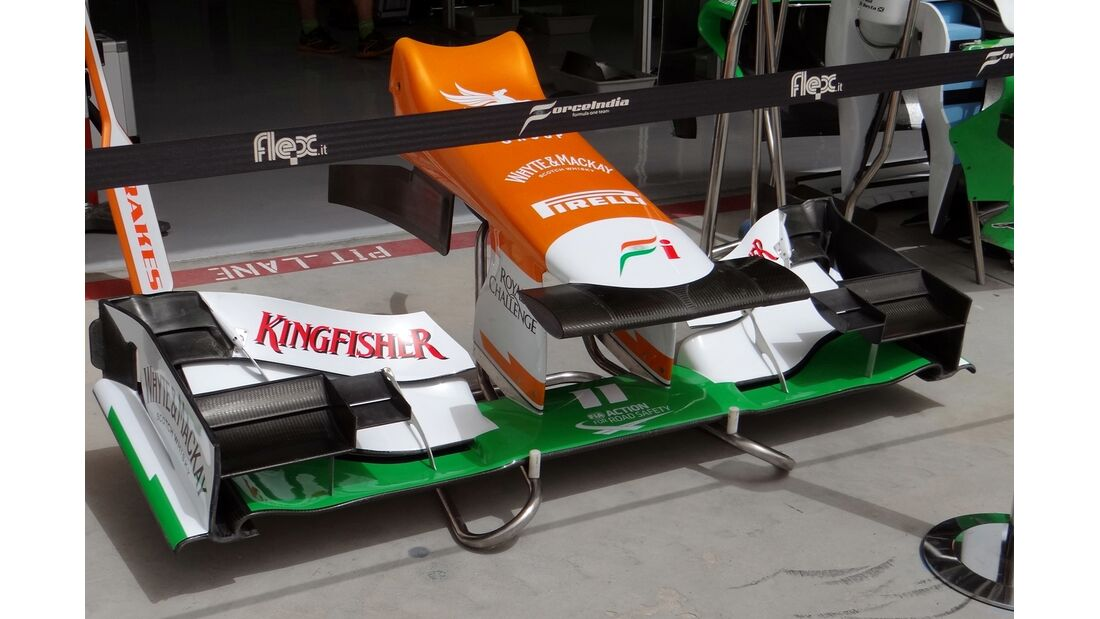 Force India - Formel 1 - GP Bahrain - 20. April 2012