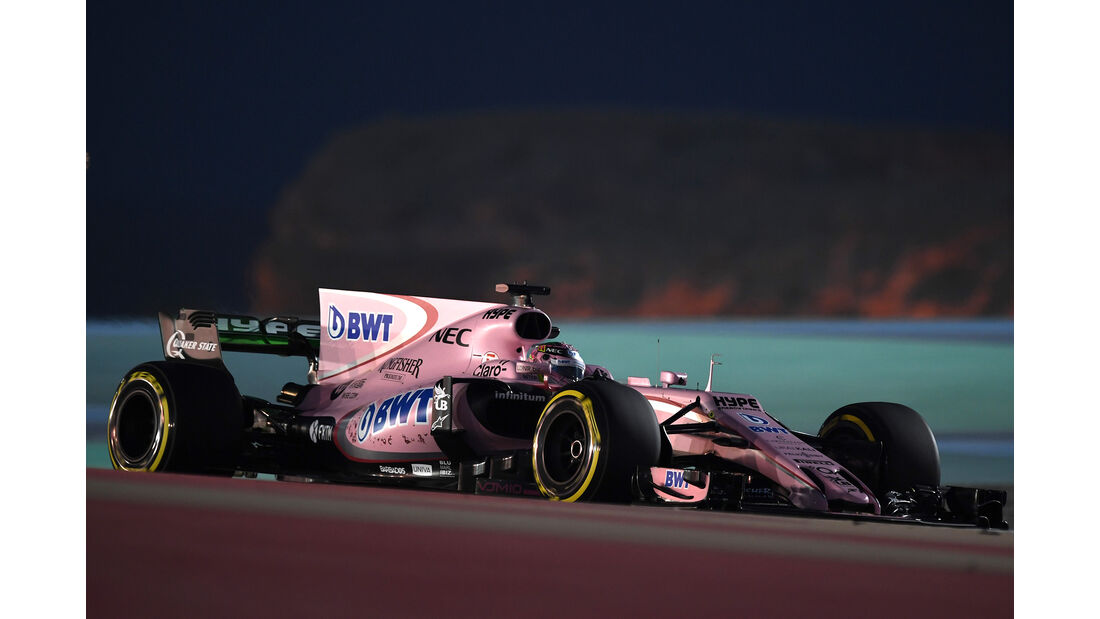 Force India - Formel 1 - GP Bahrain 2017
