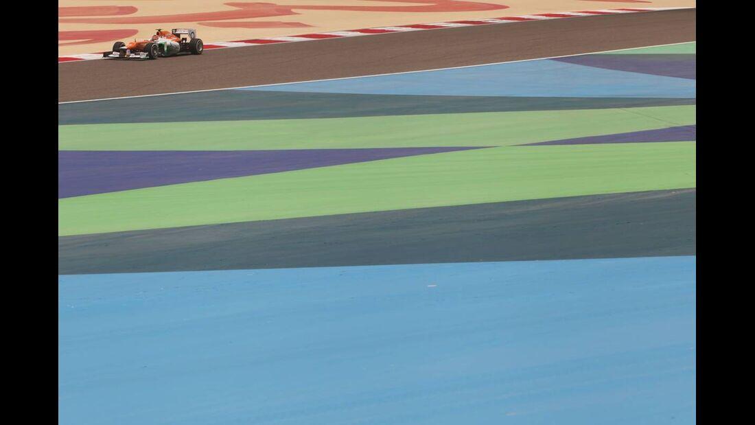 Force India - Formel 1 - GP Bahrain - 21. April 2012