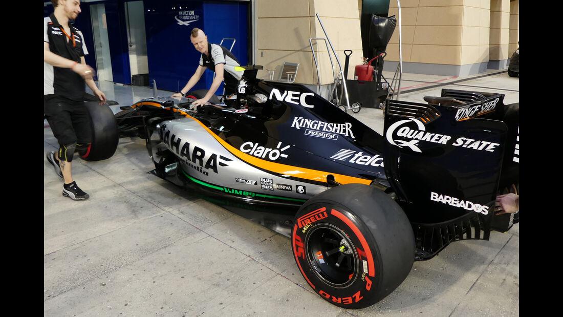 Force India - Formel 1 - GP Bahrain - 31. März 2016