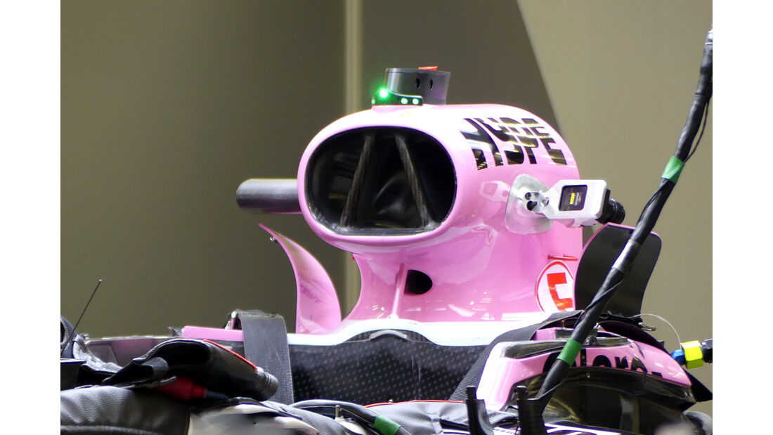 Force India - Formel 1 - GP  Bahrain - 4. April 2018