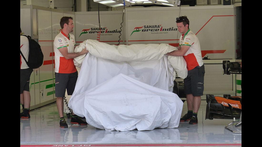 Force India - Formel 1 - GP Bahrain - Sakhir - 5. April 2014