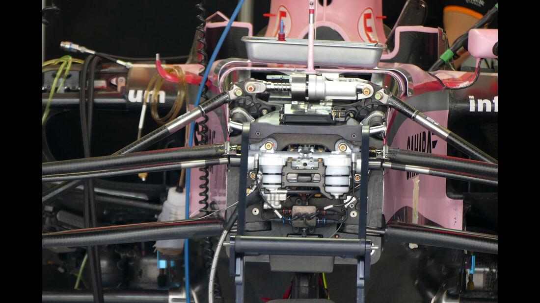Force India - Formel 1 - GP Bahrain -Sakhir - Donnerstag - 13.4.2017