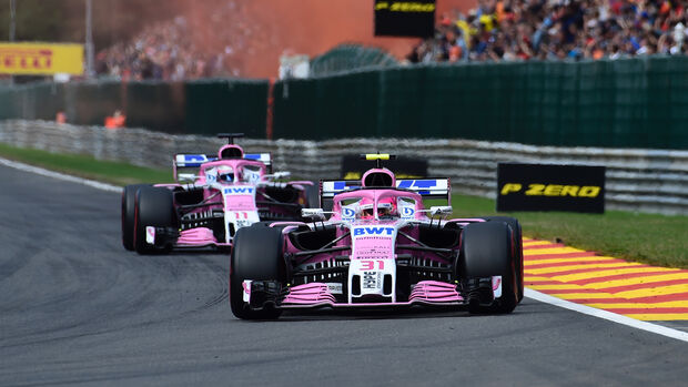 Force India - Formel 1 - GP Belgien 2018