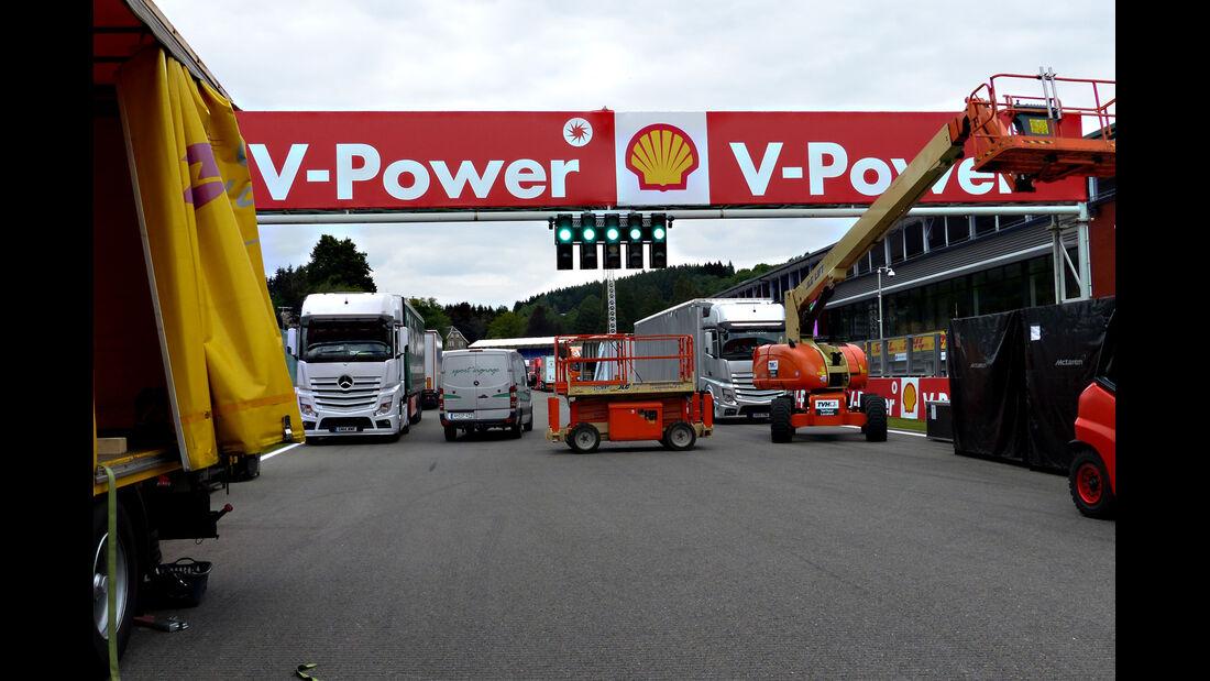 Force India - Formel 1 - GP Belgien - Spa-Francorchamps - 19. August 2015