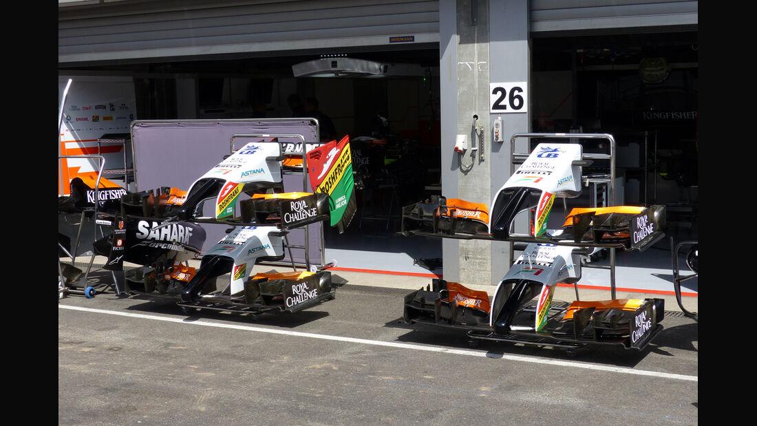 Force India - Formel 1 - GP Belgien - Spa-Francorchamps - 20. August 2014