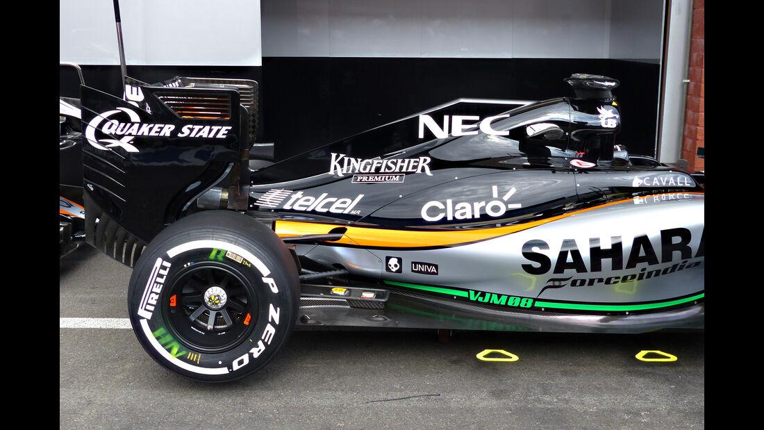 Force India - Formel 1 - GP Belgien - Spa-Francorchamps - 20. August 2015