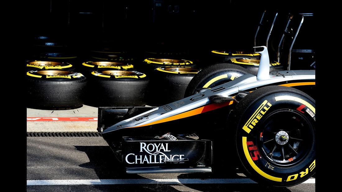 Force India - Formel 1 - GP Belgien - Spa-Francorchamps - 22. August 2015
