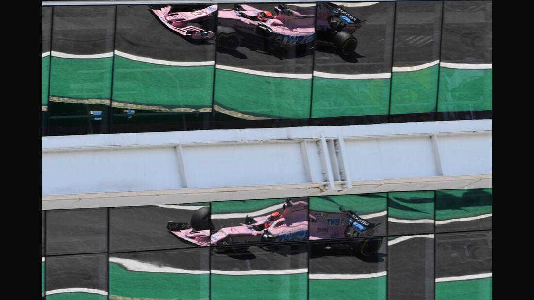 Force India - Formel 1 - GP Brasilien - 10. November 2017