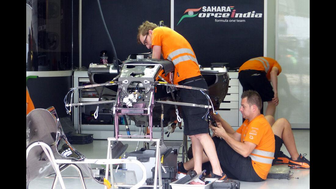 Force India - Formel 1 - GP Brasilien- 11. November 2015