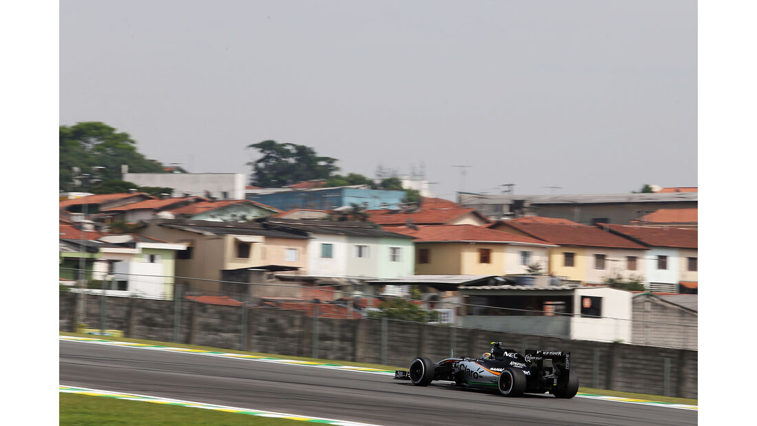 Force India - Formel 1 - GP Brasilien- 13. November 2015