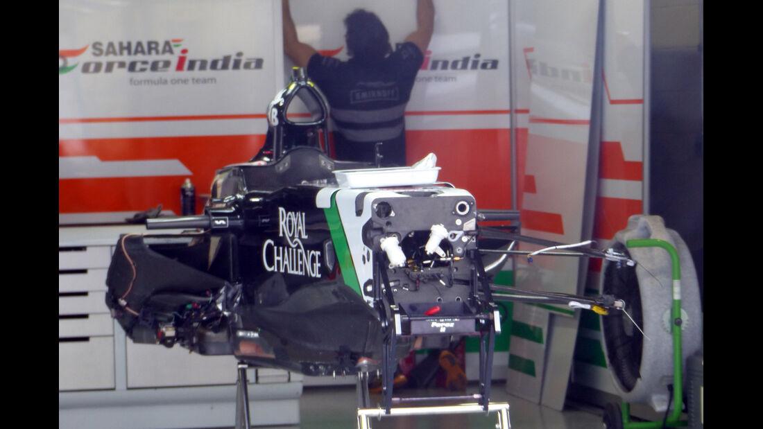 Force India - Formel 1 - GP Brasilien -5. November 2014