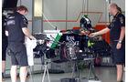 Force India  - Formel 1 - GP Brasilien - 6. November 2014