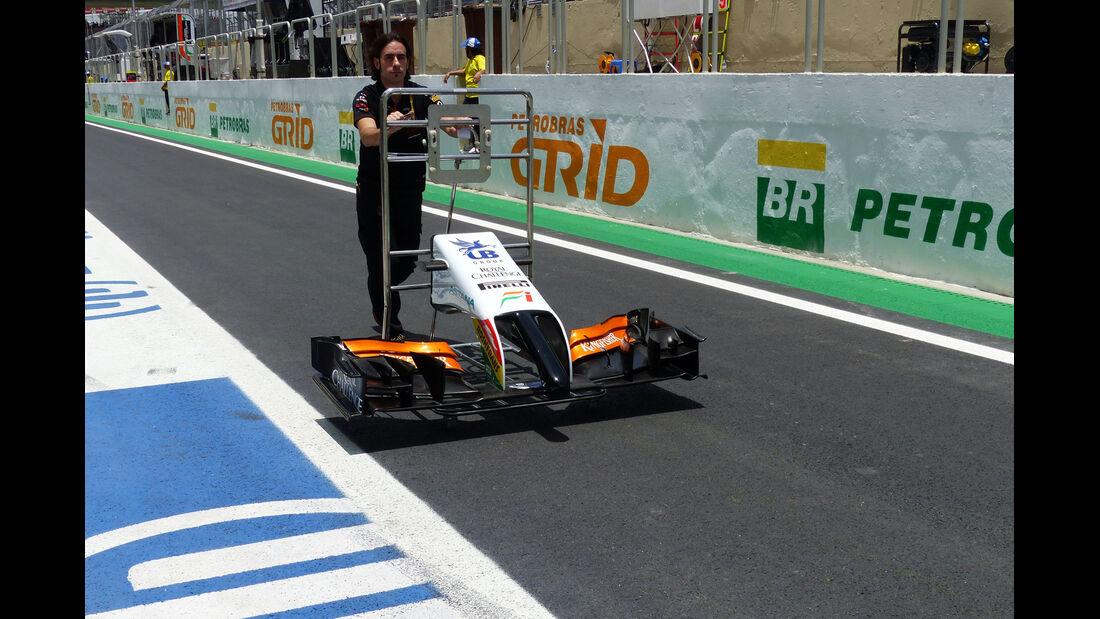Force India - Formel 1 - GP Brasilien- 7. November 2014