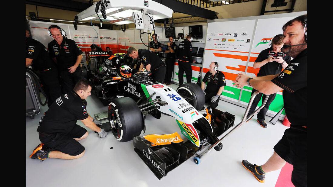 Force India - Formel 1 - GP Brasilien - 8. November 2014