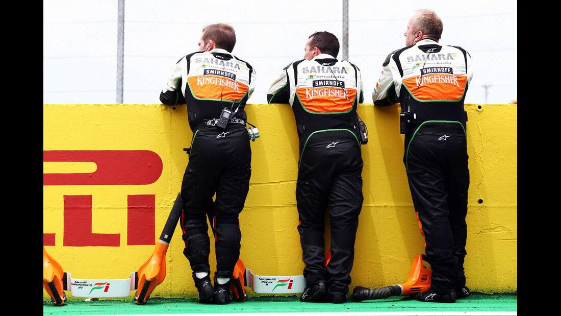 Force India - Formel 1 - GP Brasilien - 9. November 2014