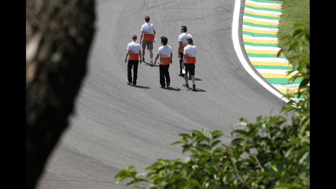 Force India - Formel 1 - GP Brasilien - Sao Paulo - 22. November 2012