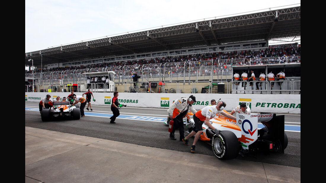 Force India - Formel 1 - GP Brasilien - Sao Paulo - 24. November 2012