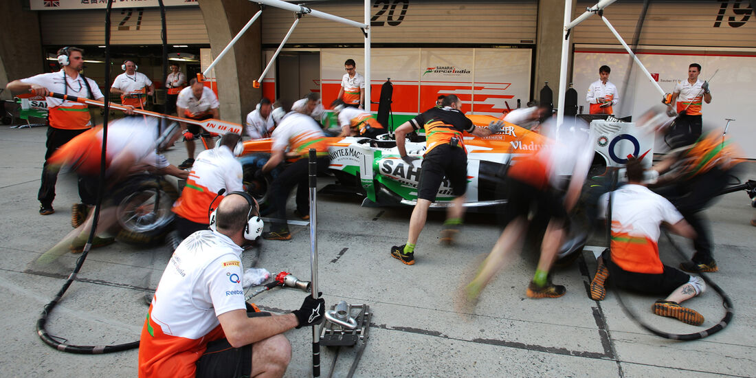 Force India - Formel 1 - GP China - 11. April 2013