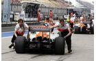 Force India - Formel 1 - GP China - 14. April 2012