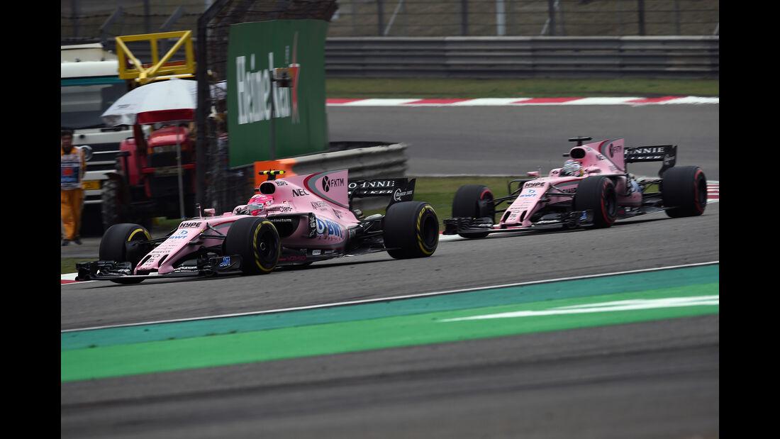 Force India - Formel 1 - GP China 2017