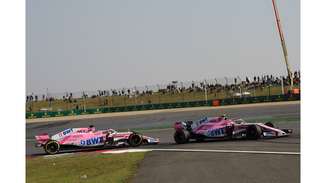 Force India - Formel 1 - GP China 2018
