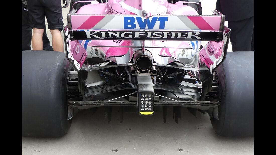 Force India - Formel 1 - GP China - Shanghai - 12. April 2018