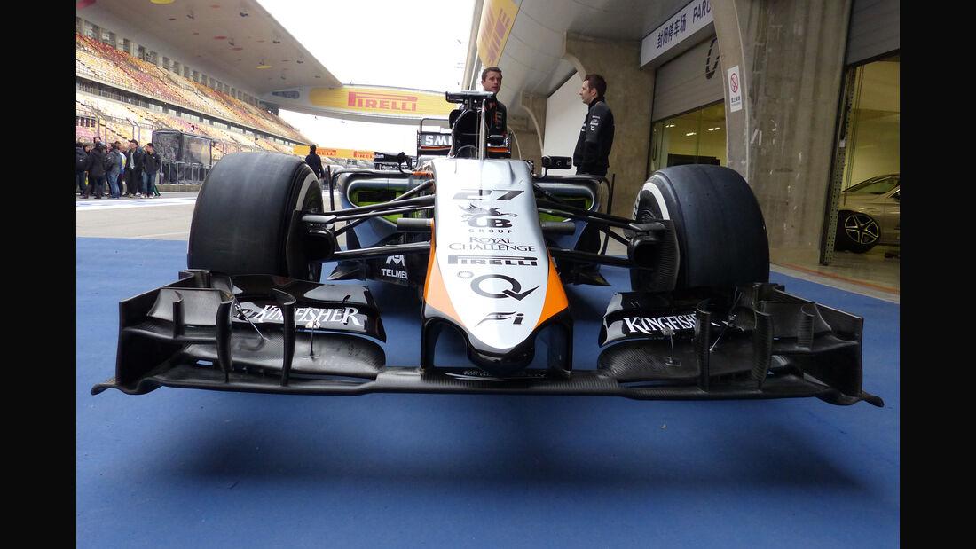 Force India - Formel 1 - GP China - Shanghai - 9. April 2015